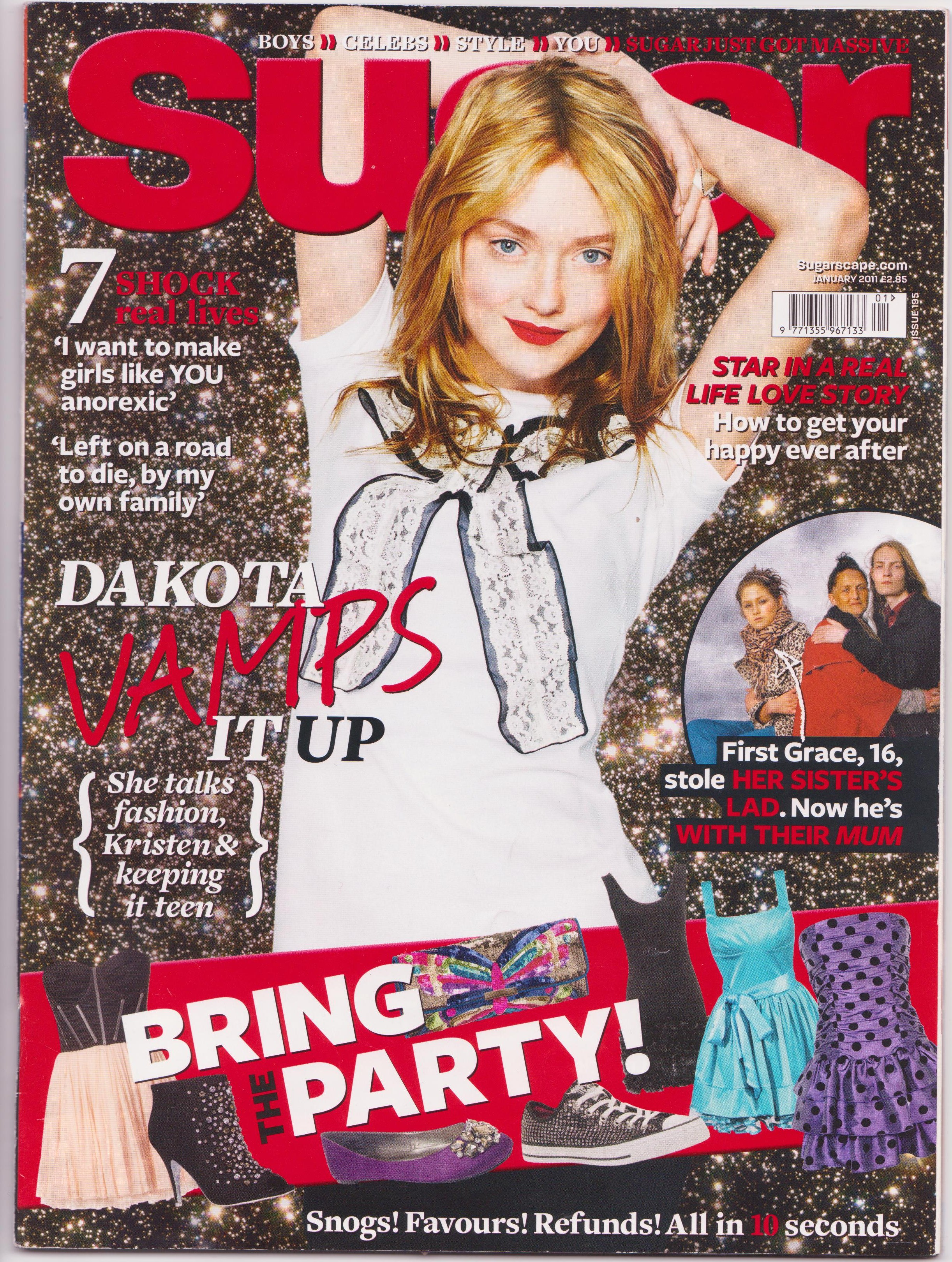 Teen Magazine Front Covers
